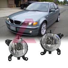 2002 Bmw 325i Fog Lights Details About For Bmw E46 99 03 Clear Lens Pair Bumper Fog Light Lamp Oe Replacement Dot Bulb