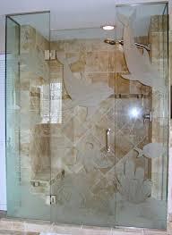 etched glass door etched glass shower doors custom etched glass interior doors