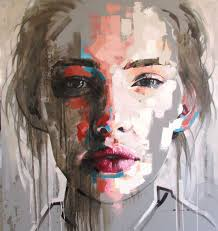 jimmy law portraits 2016 large format abstract portraits neutral in some parts then