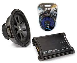 kicker subwoofer wiring kit solidfonts kicker 600 watt 12 034 subwoofers pair sealed box enclosure