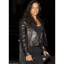 furious 7 michelle rodriguez leather jacket celebrity leather jacket for women s
