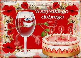 Znalezione obrazy dla zapytania życzenia urodzinowe tort