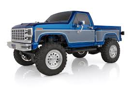 CR12 Ford F-150 4×4 Pick-Up Truck, Blue: 1/12 Scale RTR Ready to Run ...
