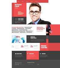 Web Design Articles 2015 Website Design 53392 Richard Clark Politician Custom