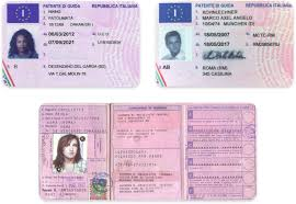 Translation Services Authority Driver's Driving International English - To Italian License