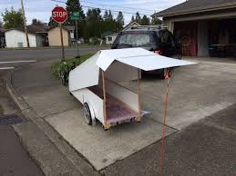Bike Camper Trailer Collapsible Bicycle Camper Creative Ideas Elkins Diy