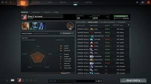 selling dota 2 account 800solo mmr
