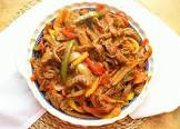 awaze sigga tibs  ethiopian style sauteed beef