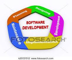 3d Circle Arrow Chart Software Development Drawing