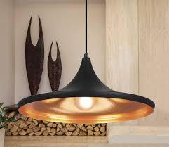 Verve Pendant Light Verve Design Black Hana Pendant Lamp Blackmatt Innergold