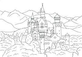 disney castle coloring pages castle coloring pages beautiful march of castle coloring pages beautiful march free