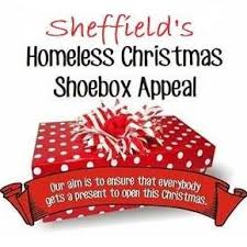 Image result for sheffield homeless shoebox appeal 2018