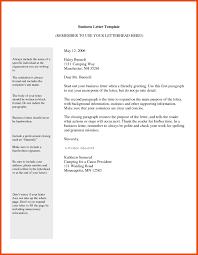 Standard Business-Letter Format Email Refrence Proper Letter Format ...