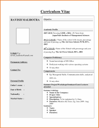 Latest Resume Models Templates Memberpro Co Examples Fascinating New