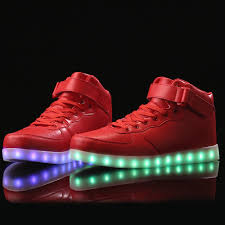 Light Up Air Force Ones For Sale Led Sneakers Air Force High Top