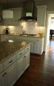 kitchen floor lighting. I Love Everything About This Kitchen The Creamy Color Of Dark Hardwood Floor Lighting