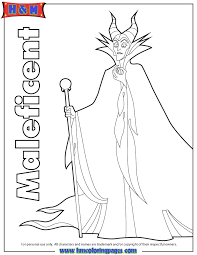 Small Picture Free Printable Maleficent Coloring Pages H M Coloring Pages