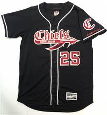 Jersey Profvb Alleson Baseball Chiefs Connetquot Black
