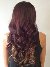 Red Hair With Blonde Under Tones