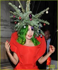 Lady Gaga Dresses as Christmas Tree After Jingle Bell Ball!: Photo 3007989  | Lady