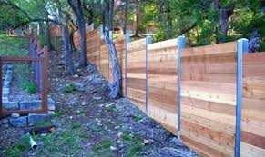fence round pressure treated posts 4 inch