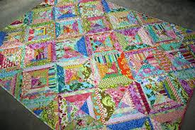 twin fibers: Bright colored scrappy quilt - finished! & Bright colored scrappy quilt - finished! Adamdwight.com