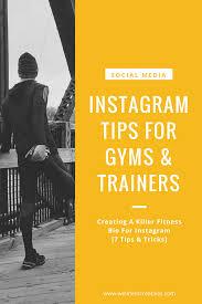 fitness bio for insram