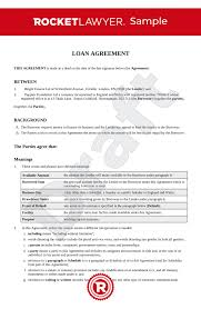 Here is what's in the loan agreement template: Loan Agreement Uk Template Make Your Free Loan Contract