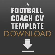 Football Coaching Resume Template How To Become A Football Coach Free Downloadable Football