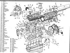 engine diagram engines transmissions 3 d lay out complete v 8 engine diagram