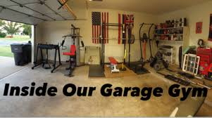 ... ideas Garage, A Look Inside Of Our Garage Gym Garage Gym Equipment:  Incredible garage gym ...