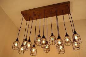 contemporary industrial lighting chandeliers industrial chandelier lighting cage light chandelier