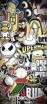 Graffiti wallpaper iphone, Cartoon ...