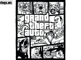 Gta 5 Coloring Pages Kondratovichme