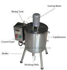 mixer cosmetics filling machine