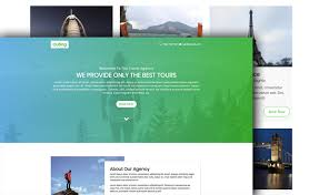 Travel Templates Free Html5 Bootstrap 4 Travel Agency Website Template With A Clean
