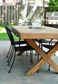 x base round dining table lovely outdoor with leg and