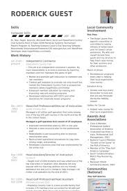 contractor resume 18 beautiful independent contractor resume pour eux com