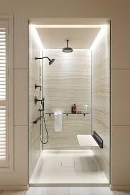bathroom bathroom lighting ideas american standard wall. Clocks, Surprising Kohler Showers American Standard Shower Stall Wall Neutral Bathroom Shower: Lighting Ideas A