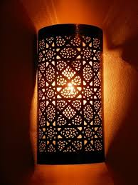 oriental lighting. Moroccan Lamps And Lighting, Sconce Its Delicate Openwork Pattern. Oriental Lighting O