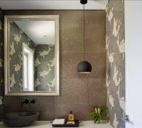 powder room lighting ideas. Powder Room Lighting Ideas Contemporary With Wallpaper S