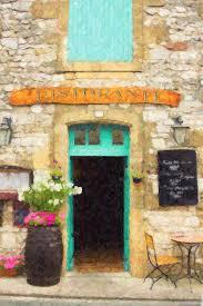 italy painting italian cafe by rob tullis