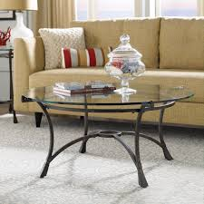 Industrial Glass Coffee Table Round Industrial Gear Coffee Table With Glass Top For Sale At