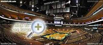 boston td garden. View From Section 5 - Row 24 Seat 20 Celtics Stadium Setup Image Showing Interior Area Arrangement Boston TD Garden Seating Chart Td