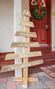 outdoor pallet christmas tree. diy rustic pallet christmas tree | a do-able step-by-step tutorial outdoor t
