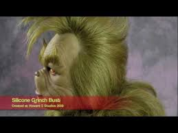 jim carrey the grinch fullsized silicone bust rick baker makeup you