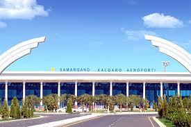 Картинки по запросу Международный аэропорт «Самарканд» возобновил работу после капитального ремонта ВПП фото