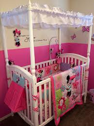 Newborn Bedroom Furniture Disney Babys Minnie Mouse Nursery Minnie Mouse Nursery