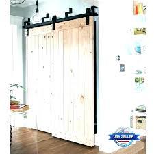 bypass sliding door closet track awesome best barn hardware ideas menards slidi
