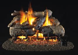 vented realfyre gas fireplace burners valves and ceramic logs hubpages